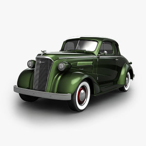 3D model chevrolet business coupe 1934