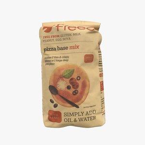 bag pizza base 3D model