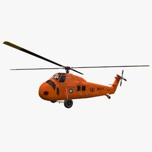 3D sikorsky navy h-34