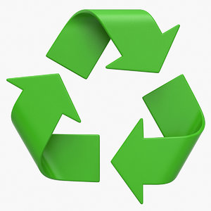 recycle logo model