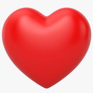 3D heart shape s