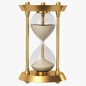 hourglass 3D