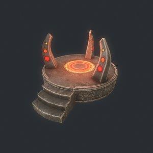 3D model stones games