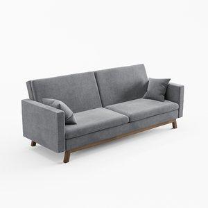 sofa reine 3D model