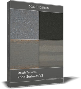 Dosch Textures - Road Surfaces V2