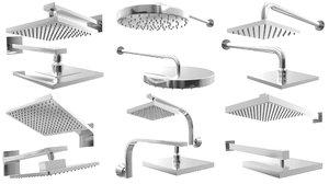3D - fixtures shower heads