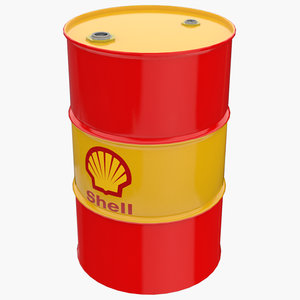 3D shell oil barrel