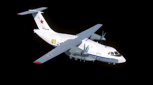 il-112 military transport aircraft model