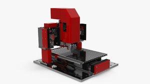 cnc drill milling 3D model