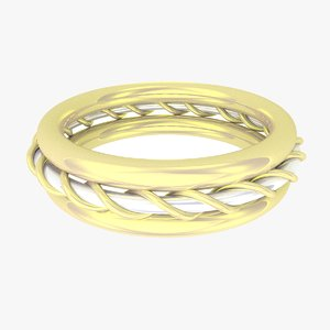 jewelry ring fashion 3D