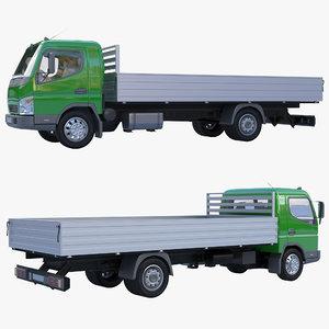 3D truck baw onboard model
