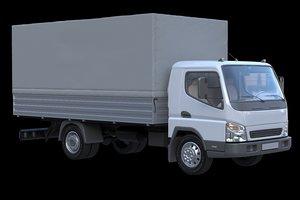 3D truck baw model