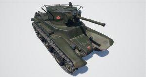 3D model bt-7 tank