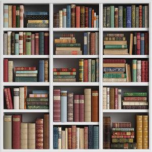 3D classic books 14 model