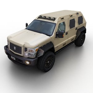 2018 ussv rhino gx 3D model