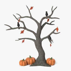 3D spooky tree
