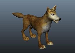 cartoon fox animal suitable model