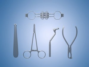 3D surgical instruments dental tools