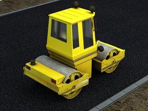 road roller construction leveler model