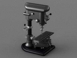 3D drilling machine electric