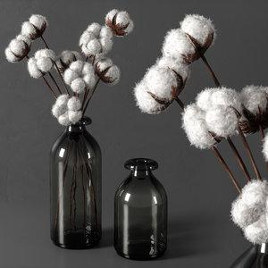 decorative vase 11 3D model