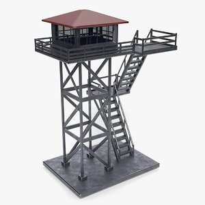 watch tower model