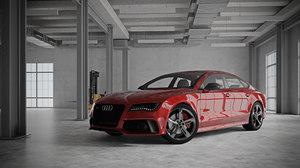 interior car scene - 3D