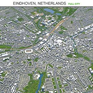 city area building model