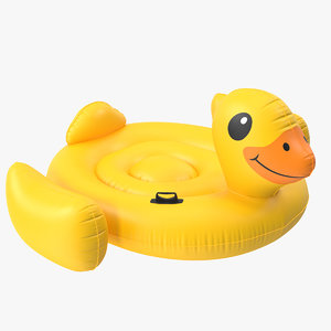 inflatable duck 3D model