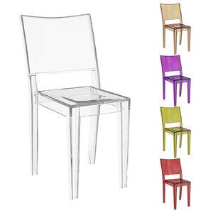 3D designer chair kartell model