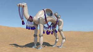 sci-fi camel 3D model
