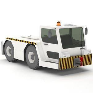 tug tow truck ft40e 3D
