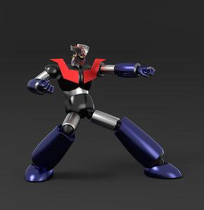 classic robot mazinger z 3D