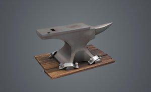 felt forge smithy tools 3D