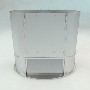 roof ventilation 3D
