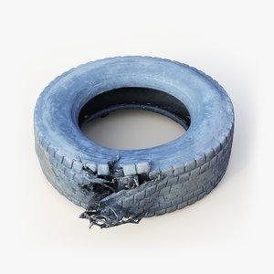 tire 3D model