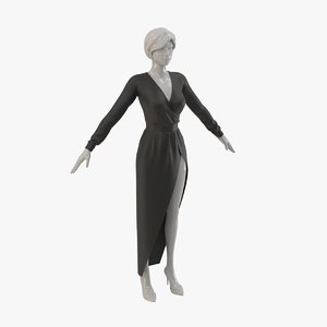 3D dress real