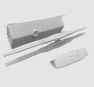 ships destiny 3D model