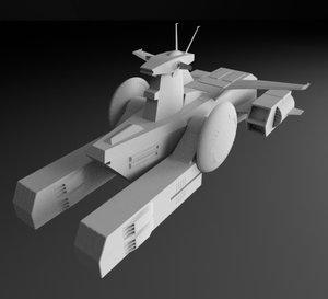 3D scv-70 white base