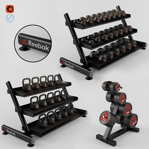 equipment gym 3D model