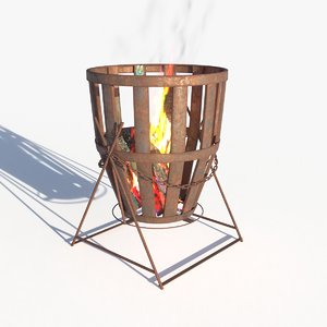 fireplace 08 model