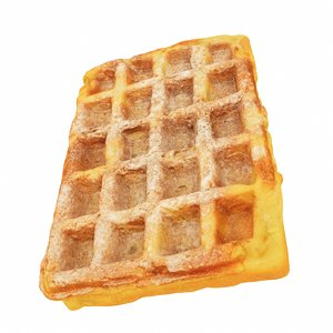 3D waffle square