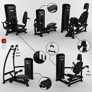 equipment gym fitness model