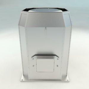 3D roof ventilation