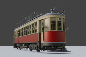 km tram 3D