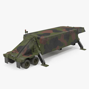 3D deployed camouflage tpy 2 model