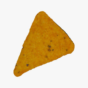 3D dorito taco cracker 01