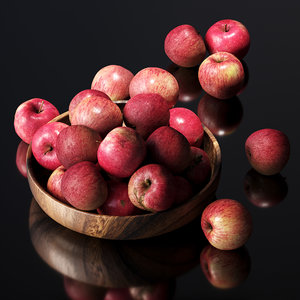 3D apples bowl photogrammetry