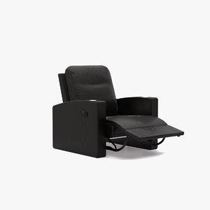 chair recliner 3D