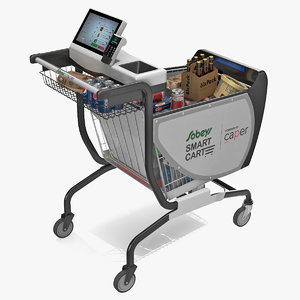 caper smart shopping cart model